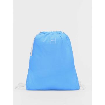 MSTRDS Sac à cordons Basic bleu