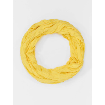 MSTRDS Scarve / Shawl Wrinkle Loop yellow