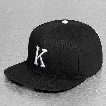 MSTRDS Snapback Cap K Letter black