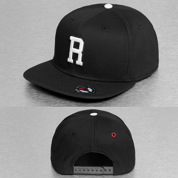 MSTRDS Snapback Cap R Letter black
