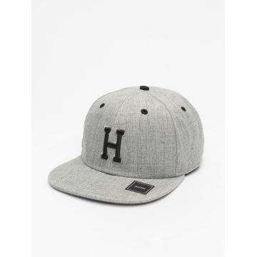 MSTRDS Snapback Cap H Letter gray