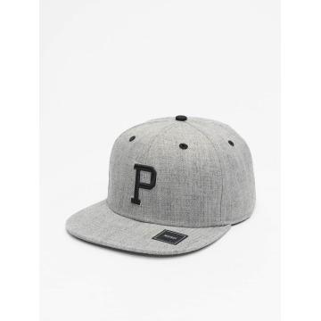 MSTRDS Snapback Cap P Letter gray