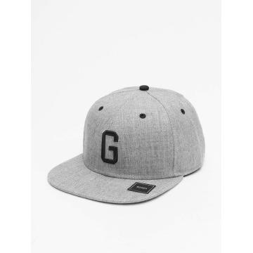 MSTRDS snapback cap G Letter grijs