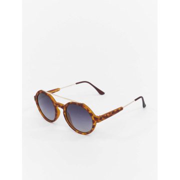 MSTRDS Sonnenbrille Retro Space Polarized Mirror braun
