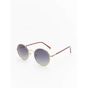 MSTRDS Sonnenbrille Flower Mirror goldfarben