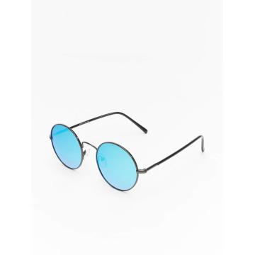 MSTRDS Sonnenbrille Flower Mirror silberfarben