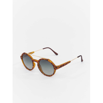 MSTRDS Zonnebril Retro Space Polarized Mirror bruin