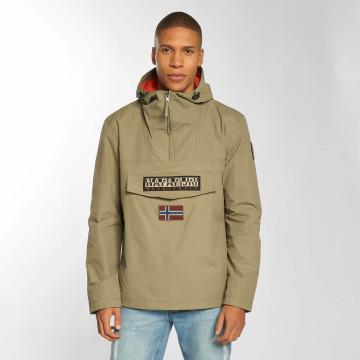 Napapijri Демисезонная куртка Rainforest хаки