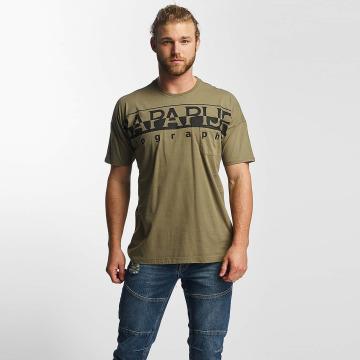Napapijri T-Shirt Saumur grün