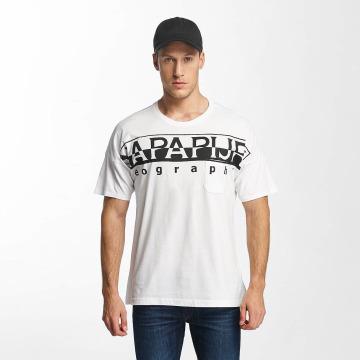 Napapijri T-Shirt Saumur white