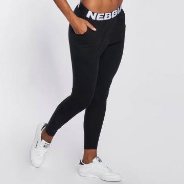 Nebbia Verryttelyhousut Logo musta