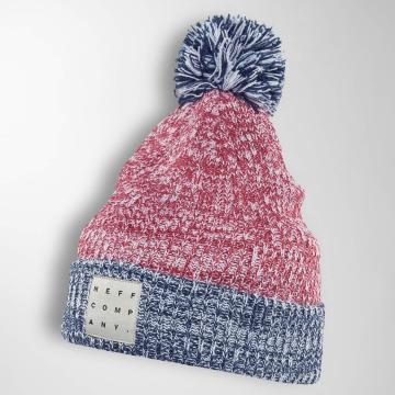 NEFF Berretto di lana Cambridge rosso