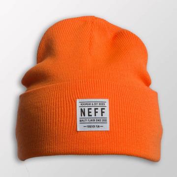 NEFF Czapki Lawrence pomaranczowy