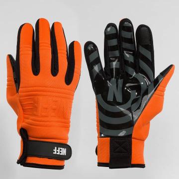 NEFF Gants Daily orange