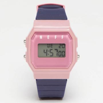 NEFF horloge Flava XL Surf blauw