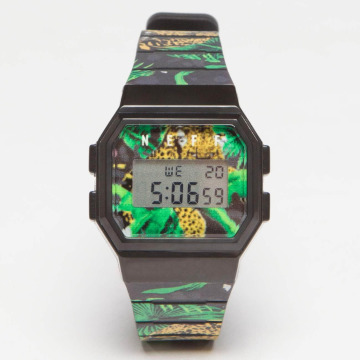 NEFF horloge Flava Wild groen