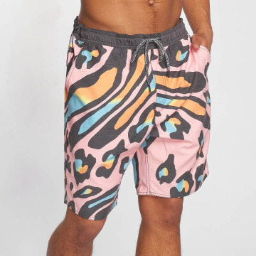 NEFF Short de bain Wavy Leopard multicolore