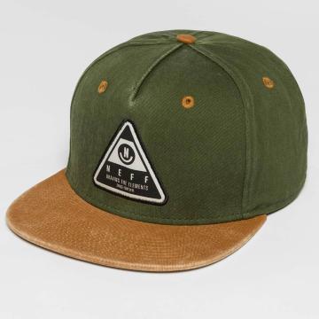 NEFF snapback cap X Wash olijfgroen