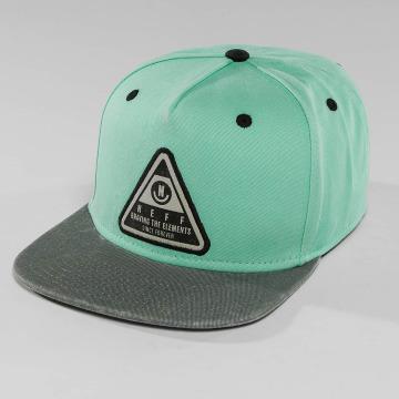 NEFF snapback cap X Wash turquois