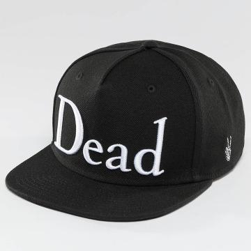 NEFF snapback cap Dead zwart
