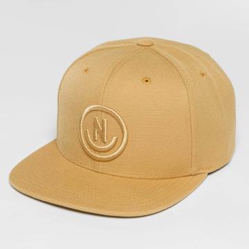 NEFF Snapback Caps Daily Smile beige