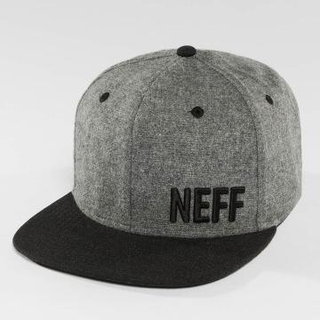 NEFF Snapback Caps Daily Fabric harmaa