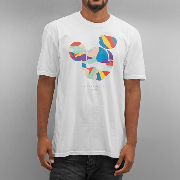 NEFF T-Shirt Abstract Mickey Face blanc