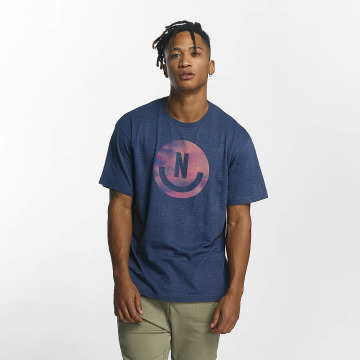 NEFF T-Shirt Smiley blue