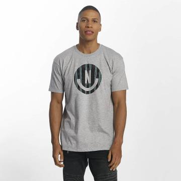 NEFF T-Shirt Smiley grau