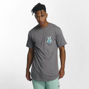 NEFF t-shirt Peece Scallop grijs