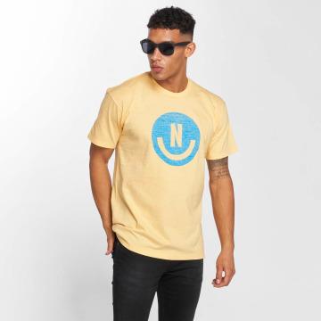 NEFF T-Shirt Smiley jaune