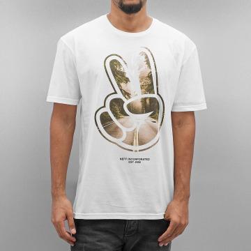 NEFF T-Shirt Paz Roads weiß