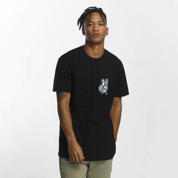 NEFF t-shirt Peece Scallop zwart
