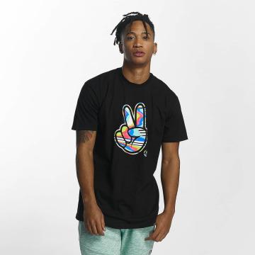 NEFF t-shirt Peeace zwart