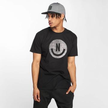 NEFF T-Shirty Smiley czarny