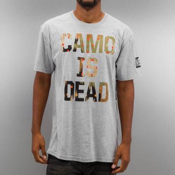 NEFF T-Shirty Camo is Dead szary