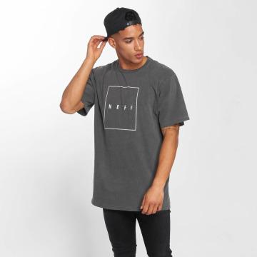 NEFF T-Shirty Quad Pigment szary