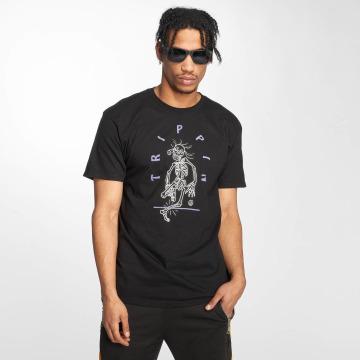 NEFF T-skjorter Tripping Shady svart