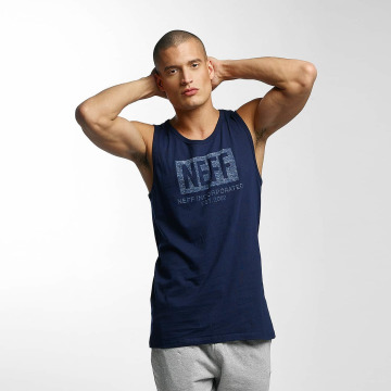 NEFF Tank Tops New World Push sininen