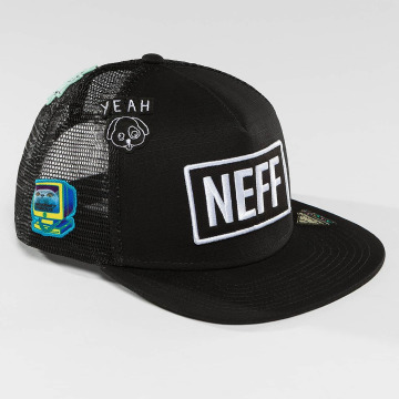NEFF Trucker Cap Atoms black