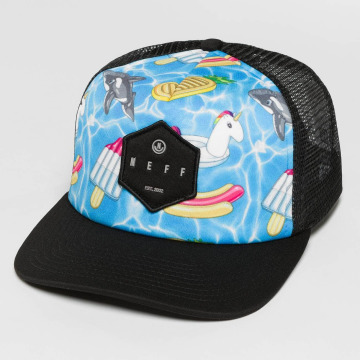 NEFF Trucker Caps Hot Tube mangefarget