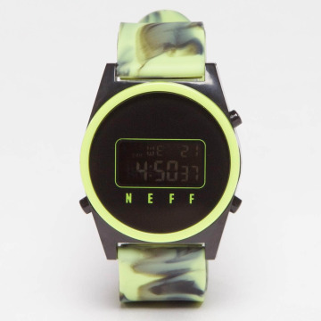 NEFF Watch Daily Digital green