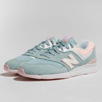 New Balance Sneaker 697 blau