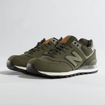 New Balance Sneakers 574 oliwkowy