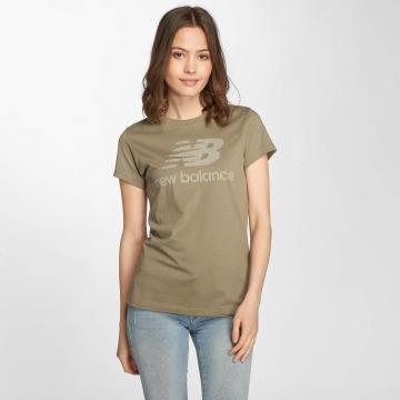 New Balance T-Shirt WT81539 Heathered vert