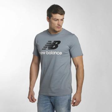 New Balance T-shirts MT73587 Essentials blå