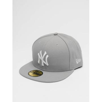 New Era Бейсболка MLB Basic NY Yankees 59Fifty серый