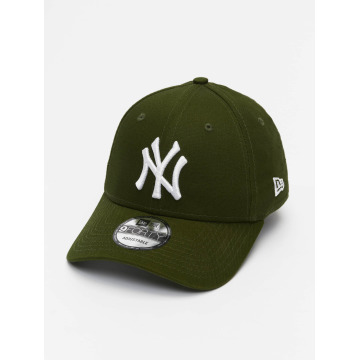 New Era Кепка с застёжкой League Essential NY Yankees 9Forty зеленый