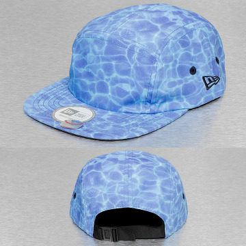 New Era 5 Panel Cap Miami Vibe Camper blue