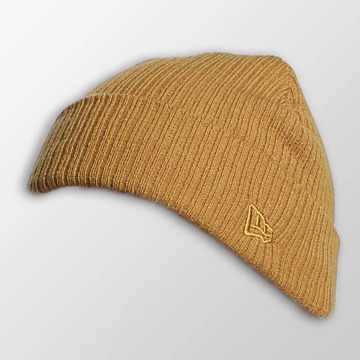 New Era Beanie Lightweight Cuff Knit bruin